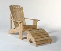 Adirondack Chair Plans With Footrest PDF Woodworking