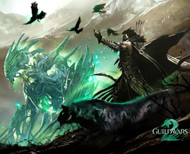 A wallpaper for Guild Wars 2