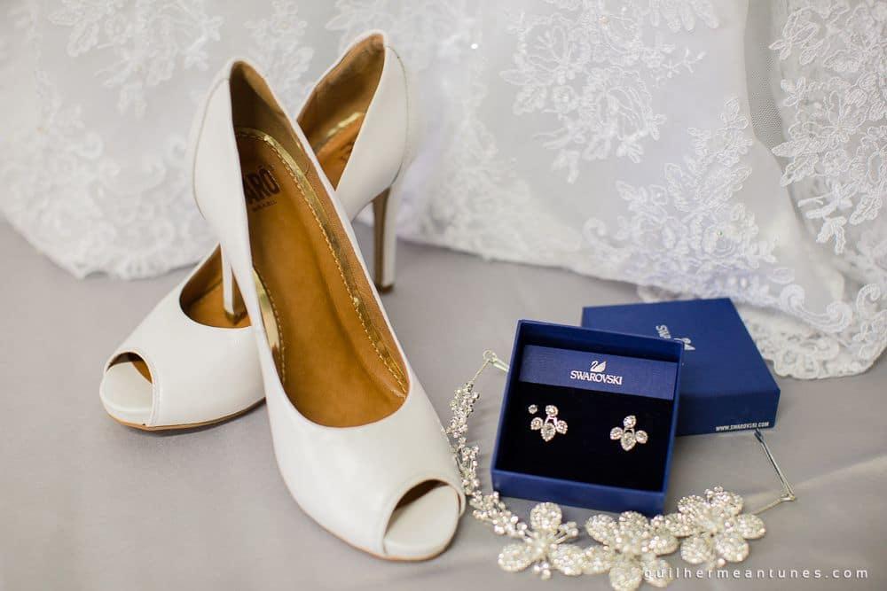 Fotografia de Casamento Luana e Alysson acessórios da noiva
