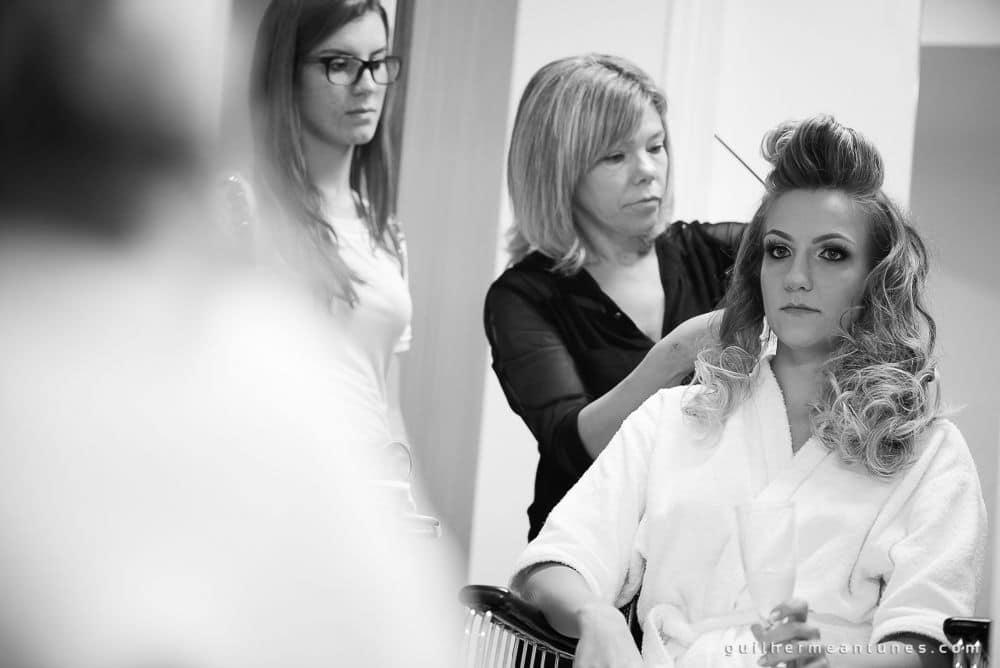 Fotografia de Casamento Luana e Alysson maquiagem