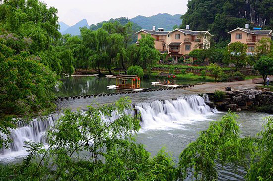 Hongyan village of Gongcheng county,Guilin