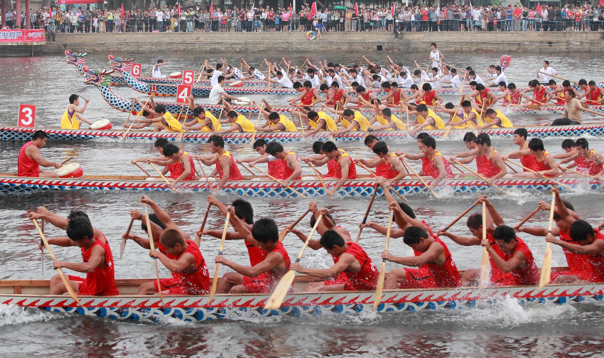 Dragon boat contest
