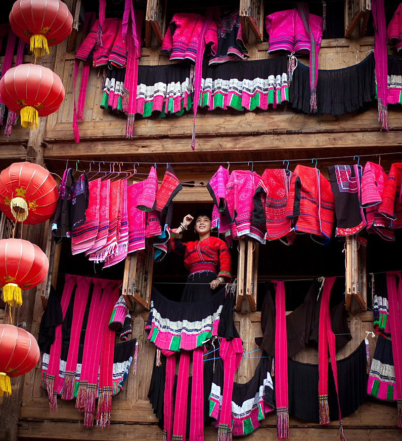 Red Clothes Festival in Longsheng,Guilin