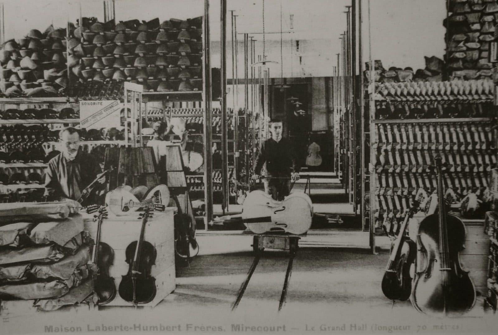 Mirecourt & le violon - Guillaume KESSLER, Luthier