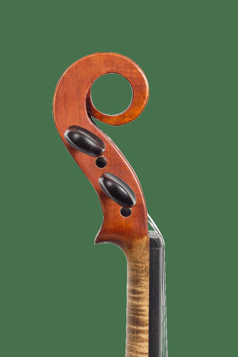 Volute du prototype violon 1/2 Paréidolie