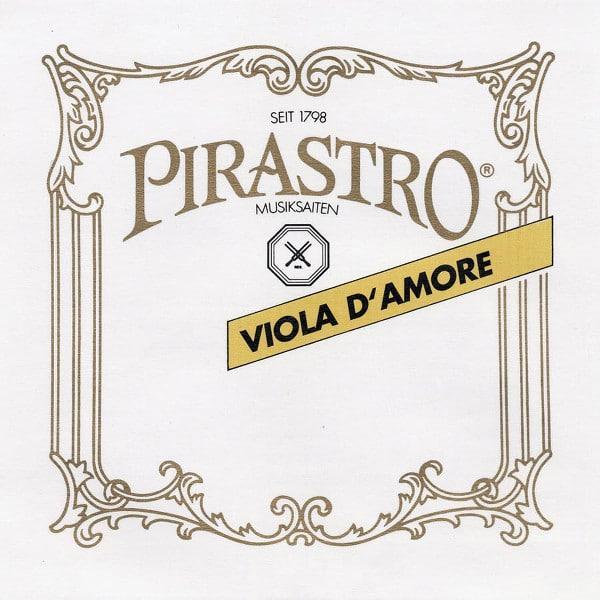 Cordes Pirastro Viola d'Amore pour viole d'amour.