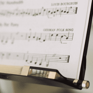 Archet carbone pour violon avec crin naturel