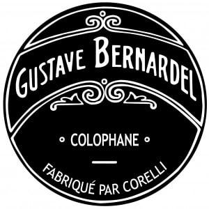 La colophane Gustave Bernardel pour violon, alto et violoncelle.