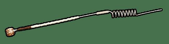 La corde de Mi Warchal Amber, une révolution.