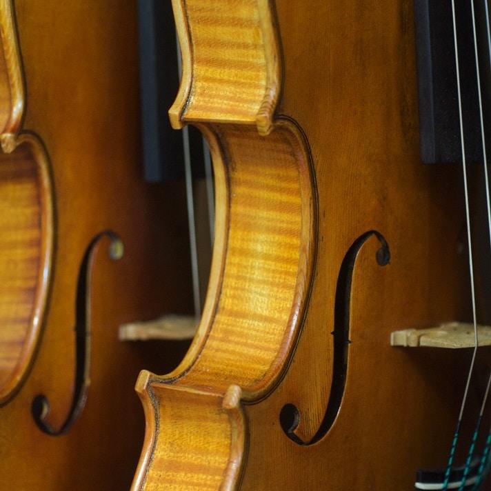 Forme des ouïes du violon