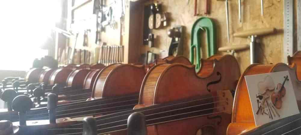 Le prix des violons chez le luthier