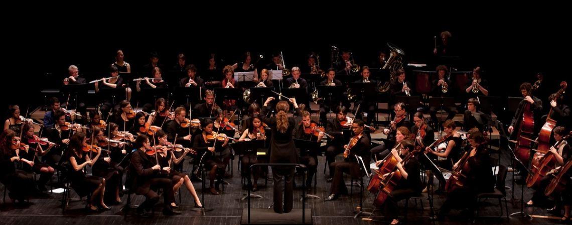 Aucune trace de violon pour gaucher dans l'Orchestre Universitaire de Strasbourg !
