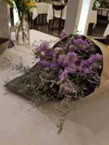 Un bouquet de bienvenu