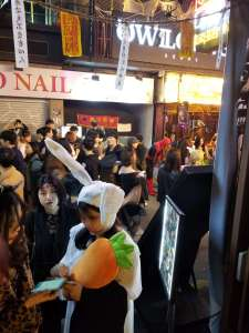 Halloween à Itaewon