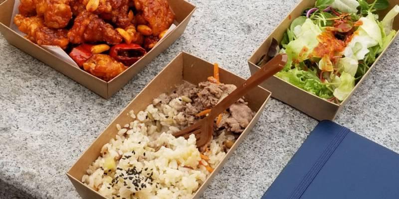 Au festival de la gastronomie coréenne dans le parc de Namsan.