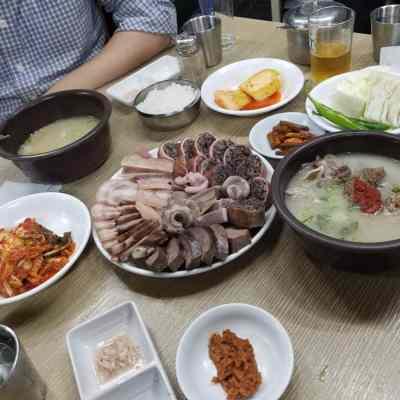 Sundae, le boudin de porc coréen