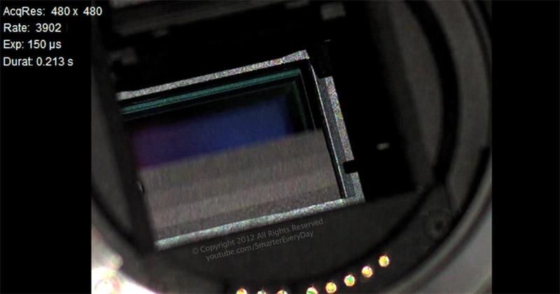 Le fonctionnement dun rflex en vido  miroir et rideaux en action  Photographies  cyclisme