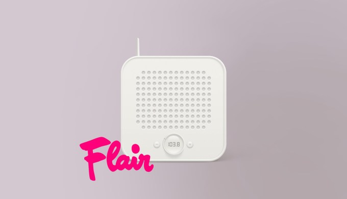 Reclamecampagne van Flair op de nationale radio
