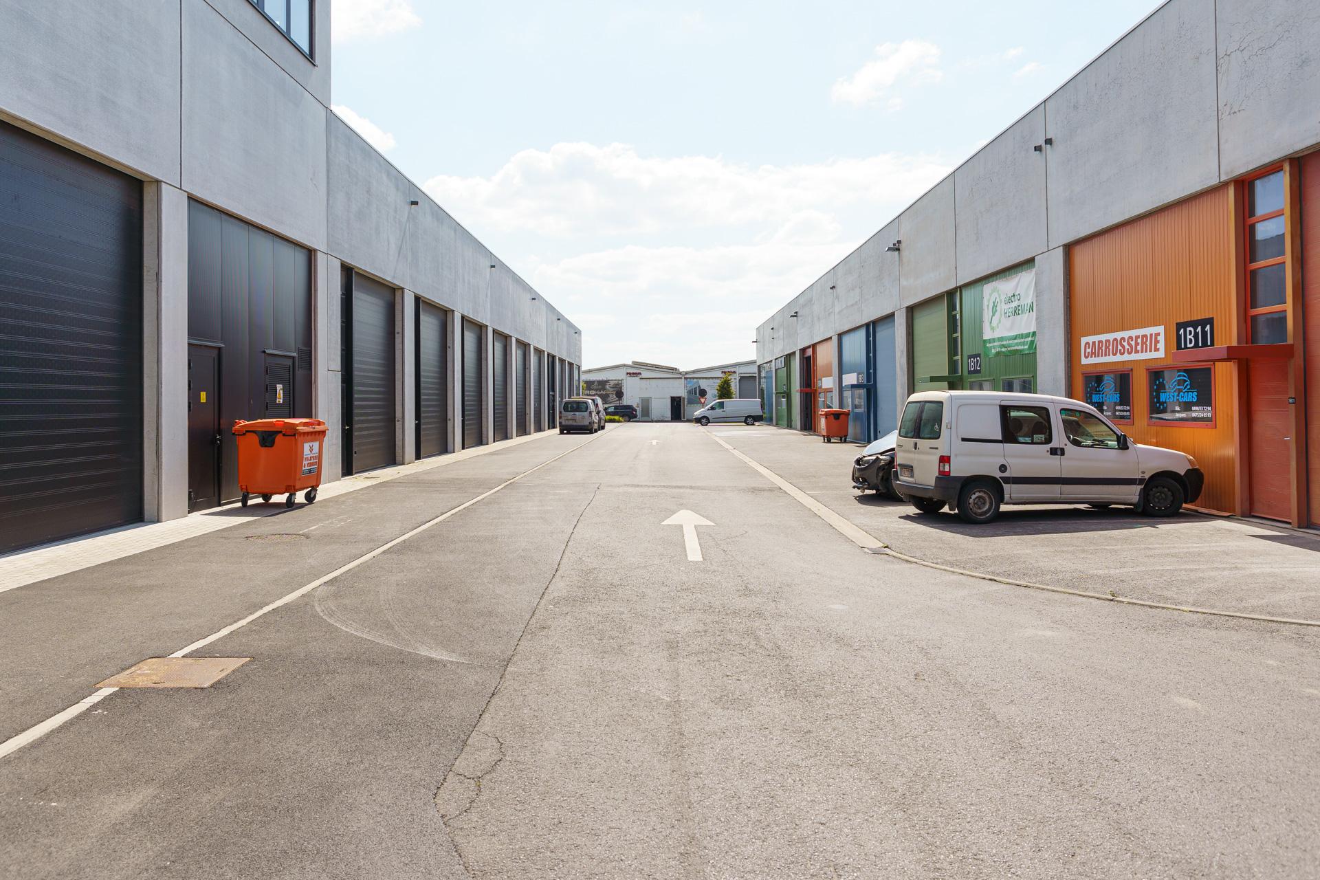 vastgoedfotografie industriële vastgoed Poort tot Poperinge