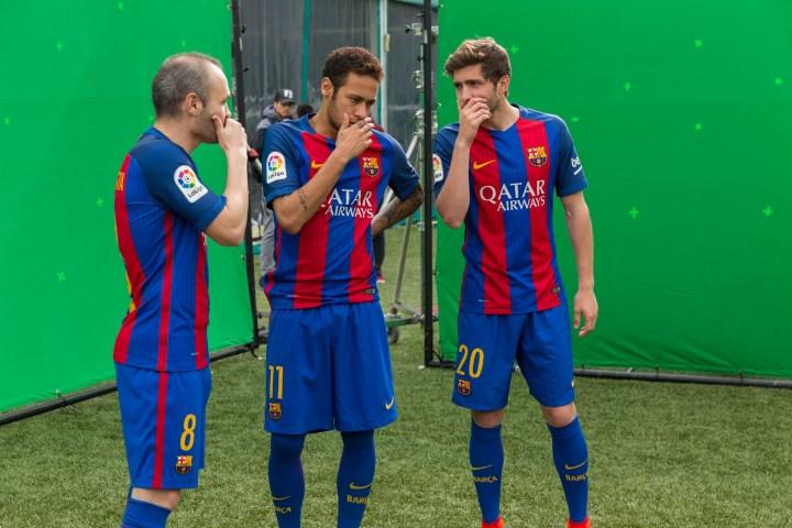 Making Of d'anuncio d'Audi i Barça