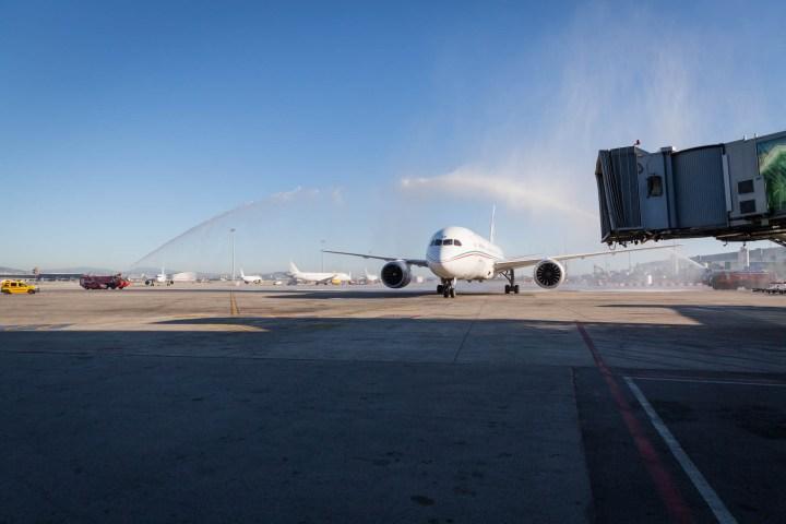 Inauguració de nueva ruta aèria de Royal Air Marroc