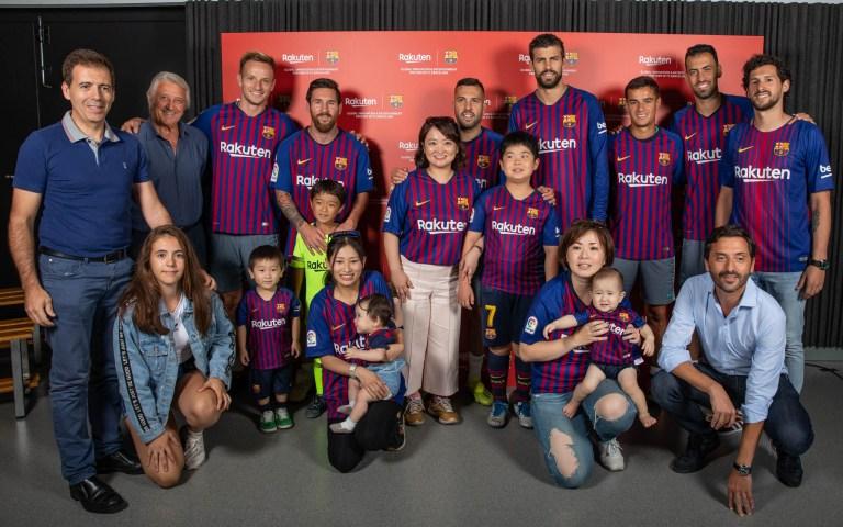 Esdeveniment privat VIP Rakuten i Barça
