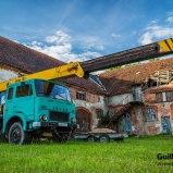 Jelcz, un camión grúa polaco
