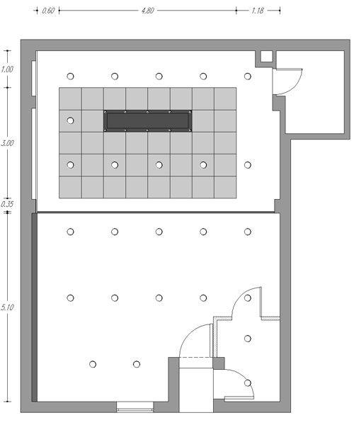 Planta falso techo espai de cuina