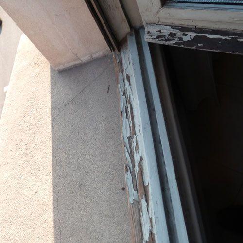 Deficiencias ITE - ventanas en mal estado