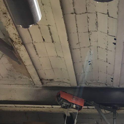 Deficiencias ITE - Falta de mantenimiento en estructuras metálicas