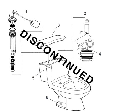 Order Replacement Parts for American Standard 2085.019
