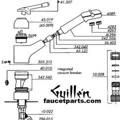 Delta Kitchen Faucet Parts Diagram Glass Pendant Lights For Island Franke