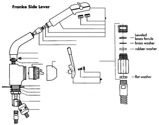 Franke FF-300 Series Part Catalog