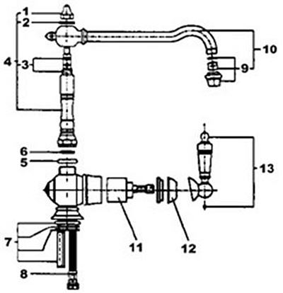 Kohler Sink Diagram Kitchen Sink Diagram Wiring Diagram