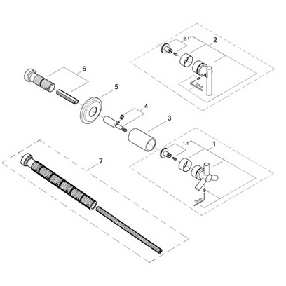 Order Replacement Parts for Grohe 19182 Atrio; Volume
