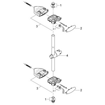 Order Replacement Parts for Grohe 28399 ; 36