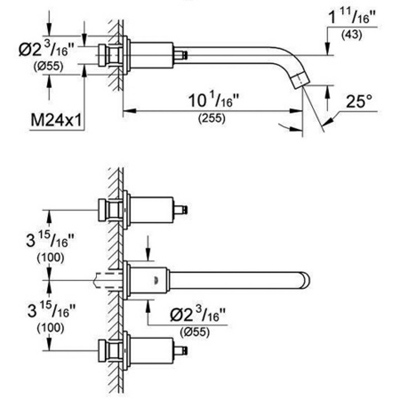 Order Replacement Parts for Grohe 20139 Atrio; Wall-mount