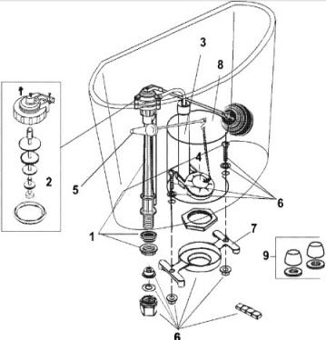 Order Replacement Parts for Jacuzzi P284; Chipriani