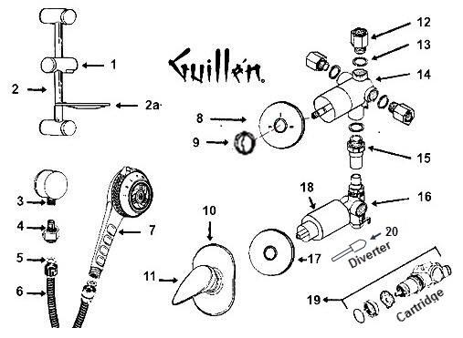 Jacuzzi Parts by Guillens.com a Genuine Authorized Parts