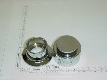Jacuzzi A843827  X523827 handle kit band in Chrome