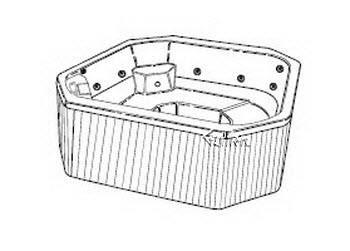 Order Replacement Parts for Jacuzzi E920000; Echo Spa (R