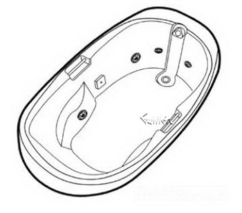 Order Replacement Parts for Jacuzzi H547000; Milano (R