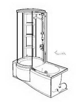Order Replacement Parts for Jacuzzi J658000; J-Shower (R