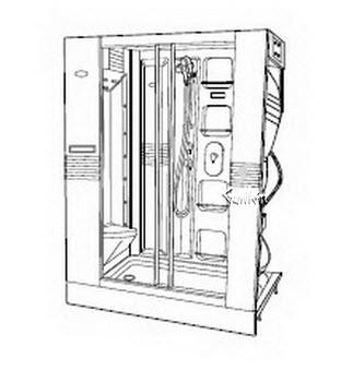 Order Replacement Parts for Jacuzzi K902000; J-Dream II (R); 1998 J-Dream (R) Series Shower unit