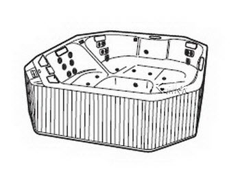 Order Replacement Parts for Jacuzzi N750000; Santina Plus