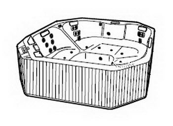 Order Replacement Parts for Jacuzzi R290000; Santina (R