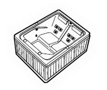 Order Replacement Parts for Jacuzzi R335000; Z101; 1999