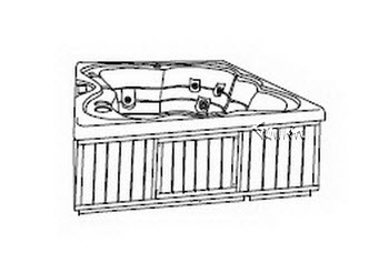 Order Replacement Parts for Jacuzzi R400000; Palio Select