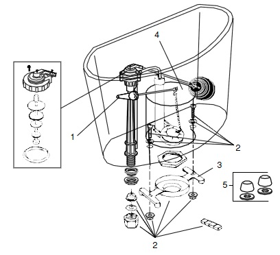 Order Replacement Parts for Jacuzzi P192; Torretta (R