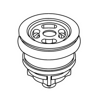 Kohler GP1157032; ; 1.6 gpf piston manual flush toilet